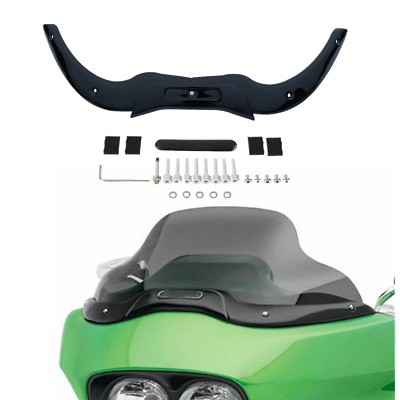 Windshield Windscreen Trim For Harley Touring Road Glide 2004-2013 FLTRU FLTRX