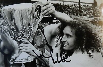 John Platten hand signed signature premiership photo mega rare!