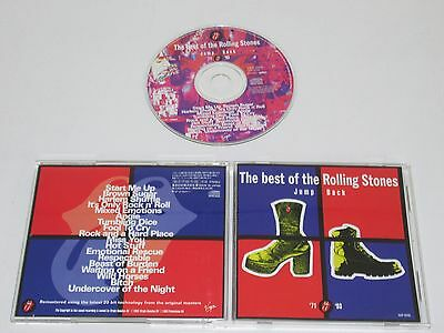 The Rolling Stones/jump Back/best Of '71-'93(Virgin Vjcp-25155) Cd Au Japon