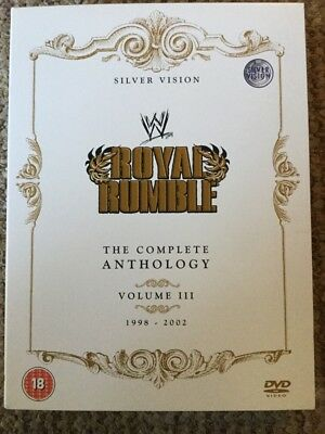 WWE - Royal Rumble Anthology Volume 3 DVD (5 Disc Set) WWF Rare 1998 - 2002