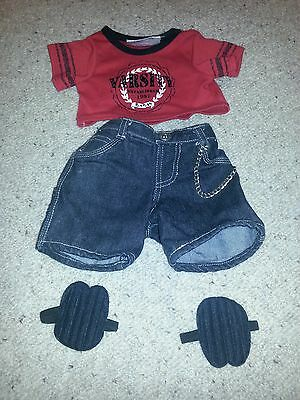 Build A Bear Skater Costume with Knee pads