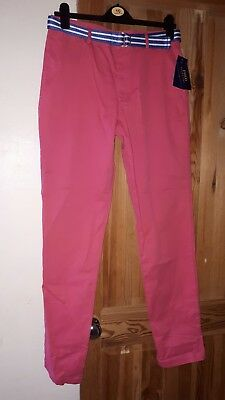 Boys Pink Polo Ralph Lauren Chinos Trouser Age 20yrs. BNWT