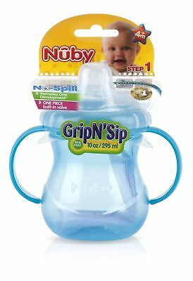 Nuby Two Handle No-Spill Cup Assorted Colours NEW