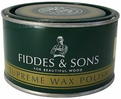 Fiddes Wax Polish Light 400ml Light (Clear) NEW