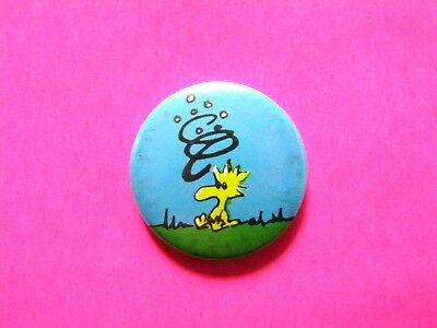 Peanuts Cartoon Button Pin Badge Uk Import
