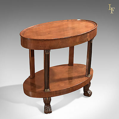 Antique Side Table, French Empire Gueridon, Neo-Classical, Directorie, c.1815
