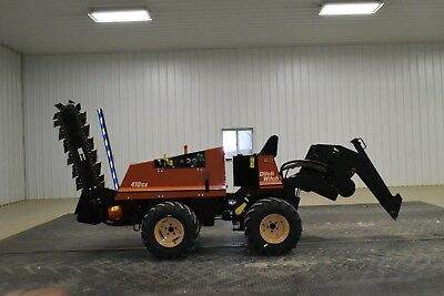 1996 Ditch Witch 410SX Vibratory Plow Trencher Bore 255SX Vermeer LM42