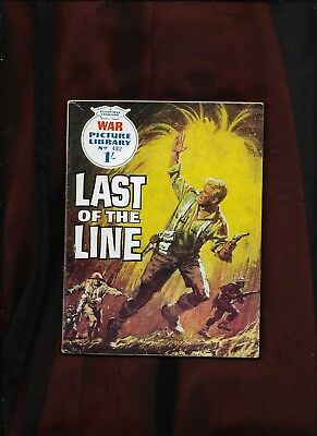 War Picture Library #482_Last Of The Line_Nov. 1968_Nice Copy