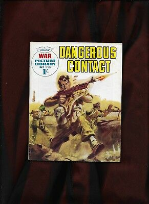 War Picture Library #273_Dangerous Contact_Jan. 1965_Nice Copy