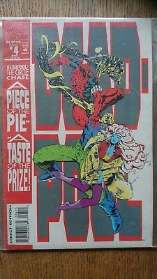 DEADPOOL # 4 Limited Series 1993 The Circle Chase