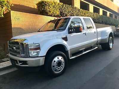 2008 Ford F-450 King Ranch 6.4L Diesel Dually 2008 Ford F450 King Ranch 6.4 Power-stroke Turbo Diesel Dually