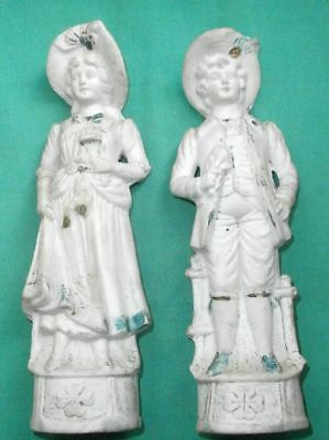 Victorian couple, antique figurine / bisque/Germany