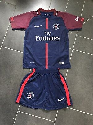 Paris Saint Germain Kinder Trikot Neu 2017/18 10 Neymar 164