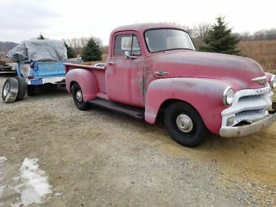 1955 Chevrolet Other Pickups  1955 chevy truck short box , rat rod , patina,  shop truck , project !