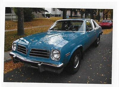 Pontiac: Other 1976 Pontiac Venura, White Landau roof, sky blue body, 37,689 original miles