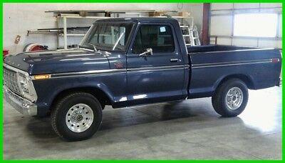 1978 Ford F-100 2WD Lariat Short Bed Pickup Truck 1978 Ford F-100 Lariat, 351ci V8, Auto Trans, 2WD, 1,500 miles on Build