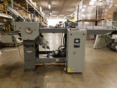 BAUM FOLDING MACHINE with Right Angle