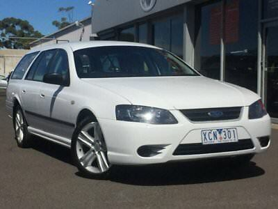 2009 Ford Falcon BF Mk III XT White Automatic 4sp A Wagon