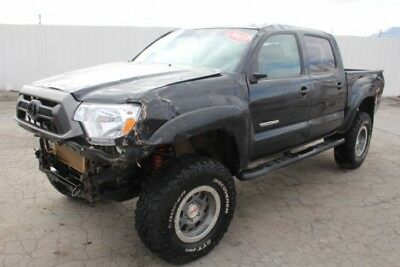 2013 Toyota Tacoma TRD Double Cab Salvage Repairable 2013 Toyota Tacoma TRD Salvage Wrecked Repairable! Priced To Sell! L@@K!!