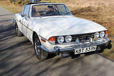 Triumph Stag Only 71000 Miles Verified By Over 30 Old Mot's