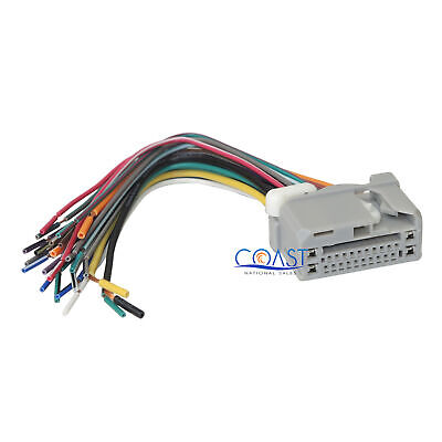 honda acura car stereo cd player wiring harness wire aftermarket  metra car radio stereo install wiring harness for 2008 up honda acura