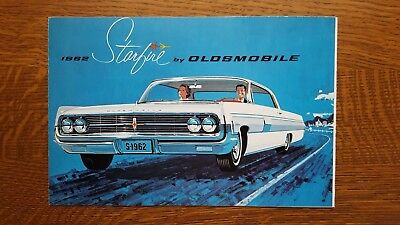 1962 Oldsmobile Starfire Sales Brochure Fold-out - Excellent Original Copy