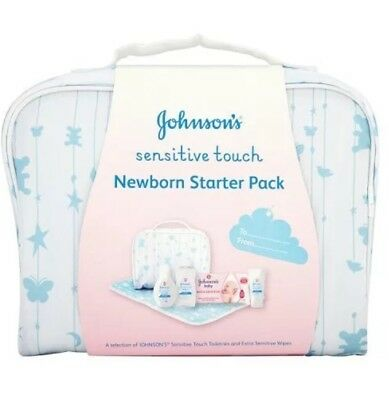 Johnsons Baby Sensitive Touch New Born Starter Pack BNIB *BRAND NEW*