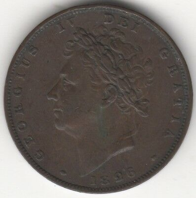 1826 George IV Farthing***Collectors***(5)