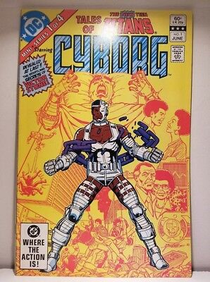 TALES OF THE NEW TEEN TITANS: CYBORG #1 Origin, 1st Solo Book FREE Shipping