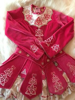 Irish Dance Solo Dress 10-11 year old perfect first dress!