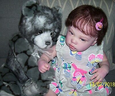 Reborn Doll- Penny. Natali Blick, Limited Edition 862/999. Mint Condition.