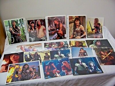 22 - VG 1997 Xena & Hercules 8 X 10 Photographs w/2 FREE Posters! FREE Shipping!