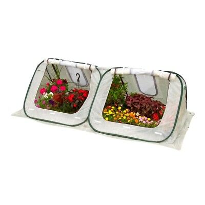 StarterHouse 3 ft. H x 8 ft. W x 4 ft. D Pop-Up Greenhouse Easy Plant Protection