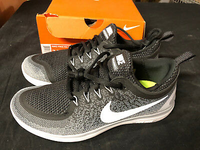 buy popular 48379 a9cbc Nike Free RN Distance 2 Mens 863775-001 Black Grey Woven Running Shoes Size  9