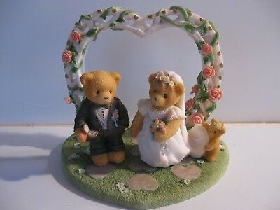 1998 Cherished Teddies Wedding Couple Priscilla Hillman