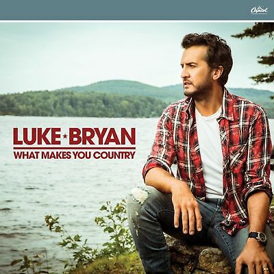 Brand new, factory sealed Luke Bryan - What Makes You Country album!.