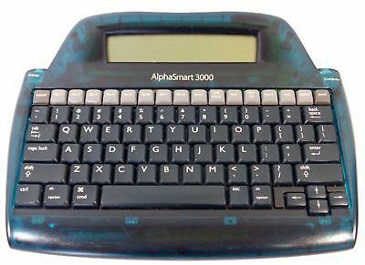 ALPHASMART 3000 Portable Word Processor Tested + Working Alpha Smart