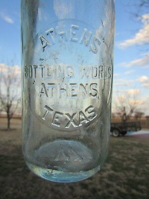 Athens, Texas Slug Plate Bottle (Athens Bottling Works)