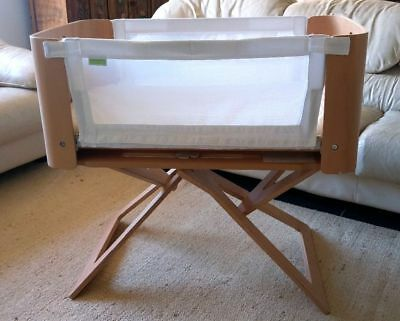 Bednest Co-Sleeping Bassinet Wooden Co-sleeper in Excellent Used Condition