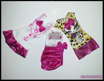 Barbie Doll Clothes Set of 3 Party Dresses/Clothing/Dress/Party/Casual/New