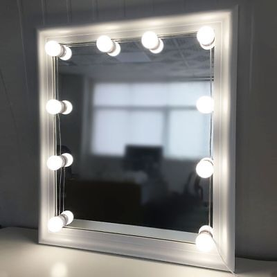 Kit de lumière LED Hollywood pour commode de maquillage miroir Dimmable