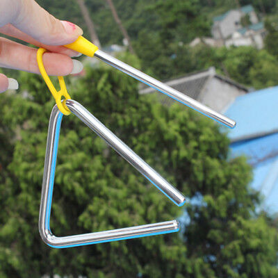 9.5cm Metal Musical Triangle Beater Percussion Instrument Kid Music Toy Gift