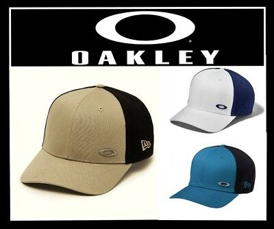 c8ef0e96ab9 OAKLEY TINFOIL CAP Hat New Era 39Thirty Fitted (New) Msrp  30 ...