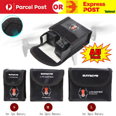 L-Battery Protective Storage Bag LiPo Safe Bag Explosion-Proof for DJI Mavic Air