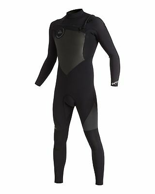 NEW QUIKSILVER™  Mens Syncro 4/3MM GBS Chest Zip Steamer Wetsuit 2017 Surf