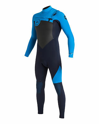 NEW QUIKSILVER™  Mens Syncro 3/2MM GBS Chest Zip Steamer Wetsuit 2017 Surf