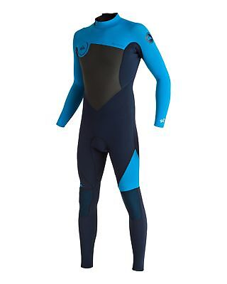 NEW QUIKSILVER™  Mens Syncro 3/2MM Steamer Wetsuit 2017 Surf
