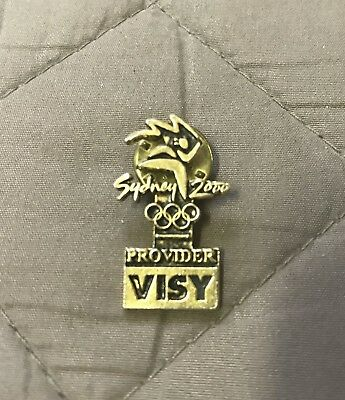 Sydney 2000 olympic Lapel pin Visy