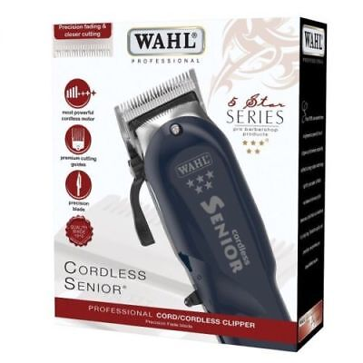 WAHL SENIOR CORDLESS clipper brand new