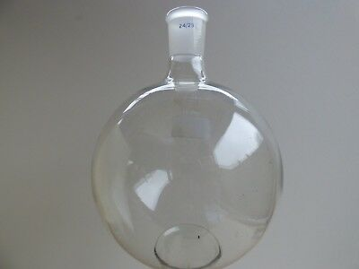 Quickfit 1 Litre Round Bottom Flask Single Entry 24/29
